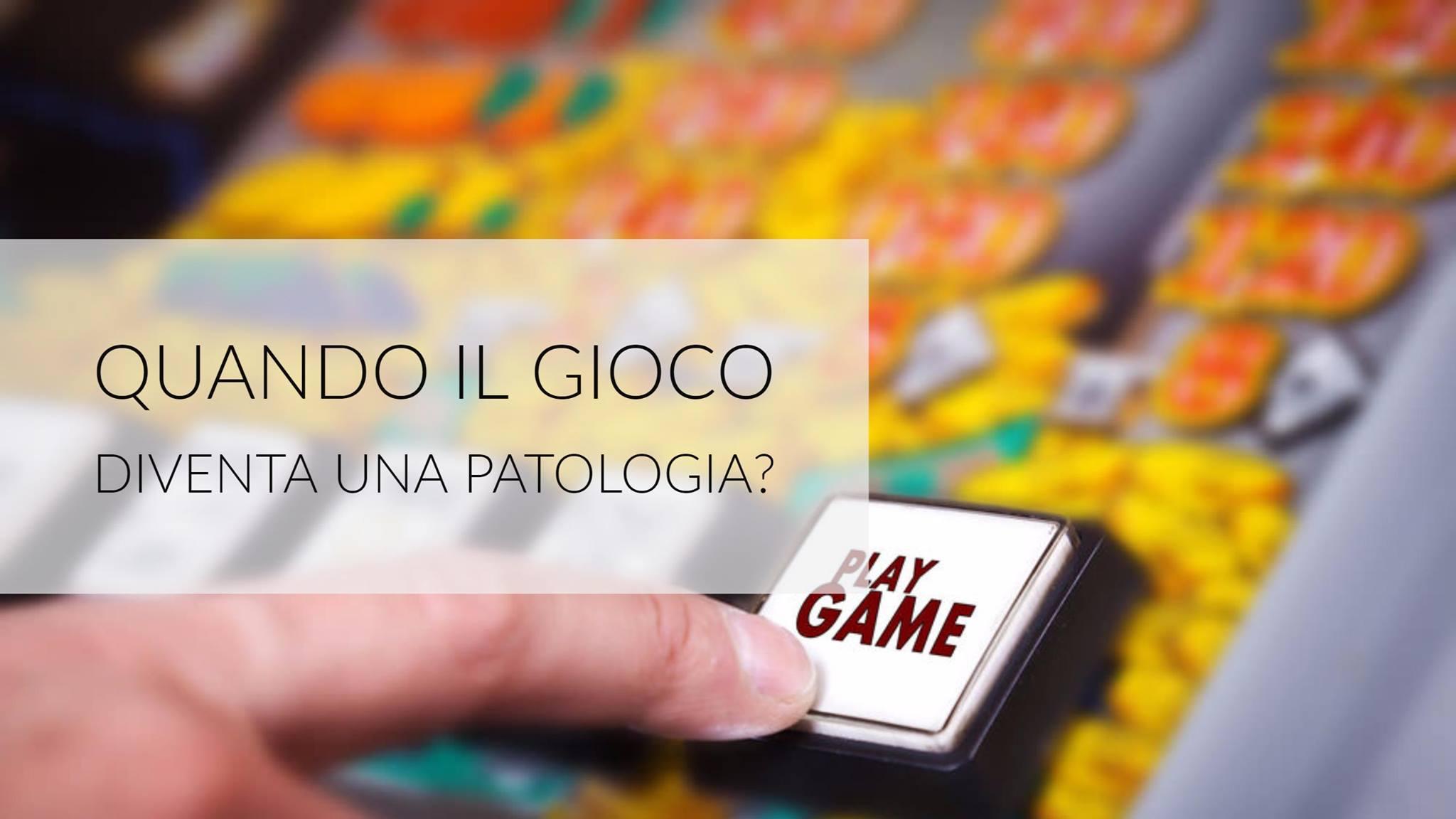 gioco patologia
