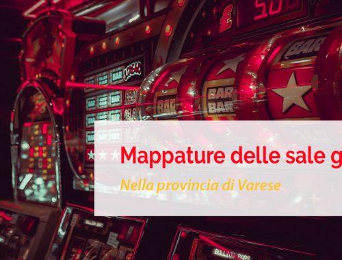 Sale gioco nella provincia di Varese